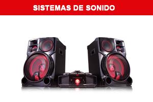 Sistemas de Sonido LG