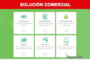 Solucion comercial paperCut
