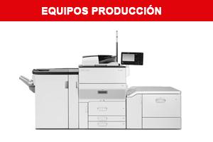equipos produccion Ricoh crear de colombia