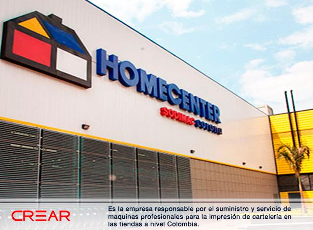 Homecenter Crear