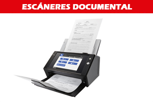 Escáner documental fujitsu