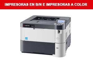 Impresoras en BN e Impresoras a Color