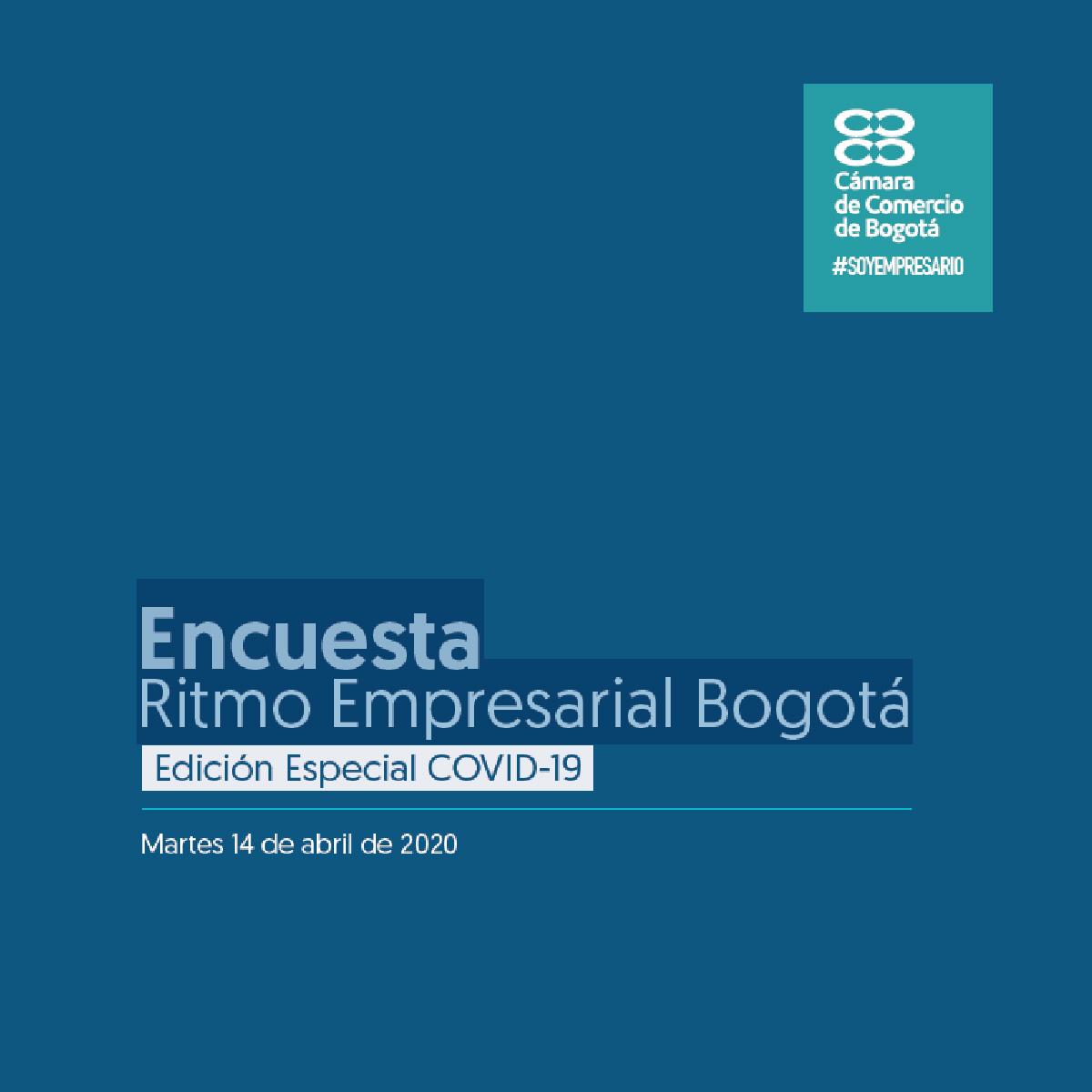 Encuesta Ritmo Empresarial Bogotá