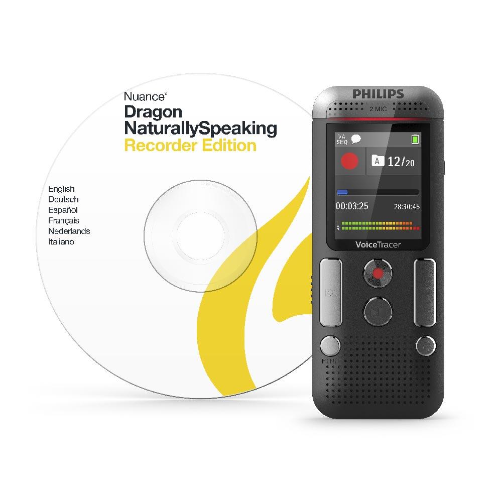 Grabadora Digital Con Software De Reconocimiento De Voz Philips En Bogota