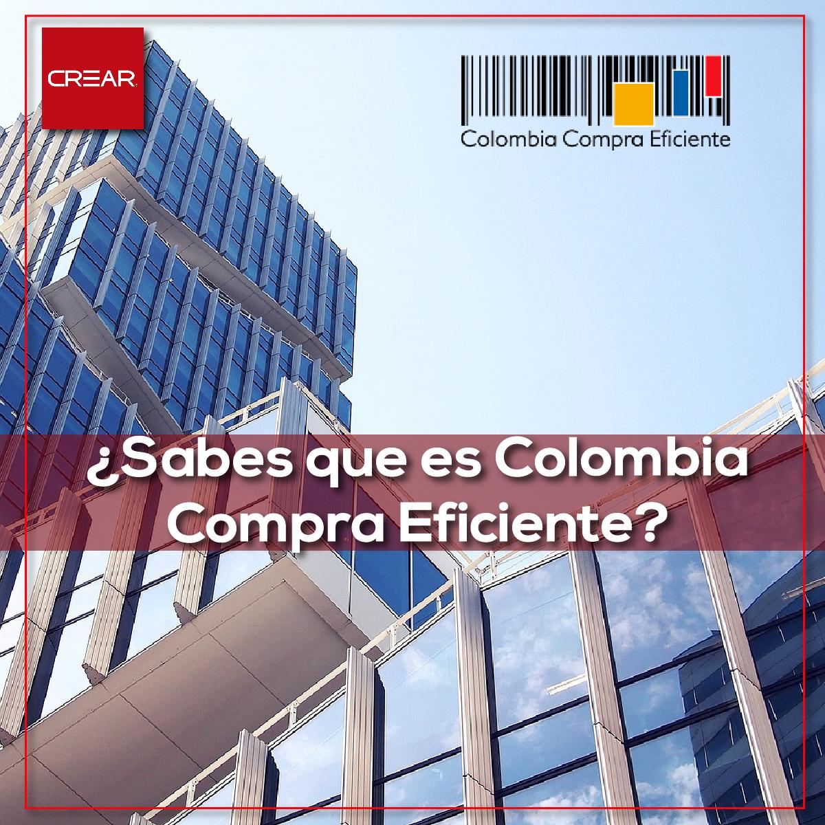 ¿Sabes Que Es Colombia Compra Eficiente?