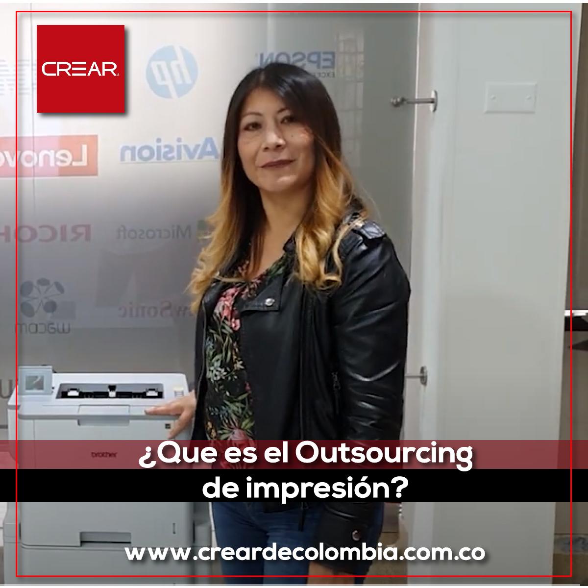 ¿Sabes Que Es El Outsourcing De Impresión?