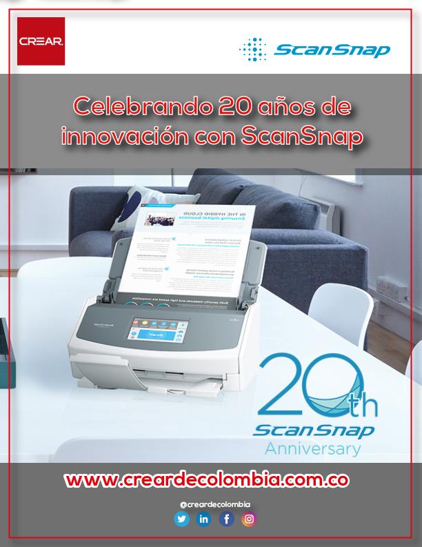 Celebrando 20 Años De Innovación Con ScanSnap